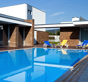 piscinas em kit SOLEO Overflow