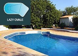 Piscinas SOLEO Lazy Ovale R50