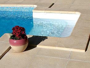 Bordaduras para piscinas Granitus