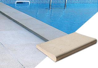 Equipamentos para piscinas - bordadura