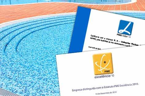 Certificados de Piscinas SOLEO