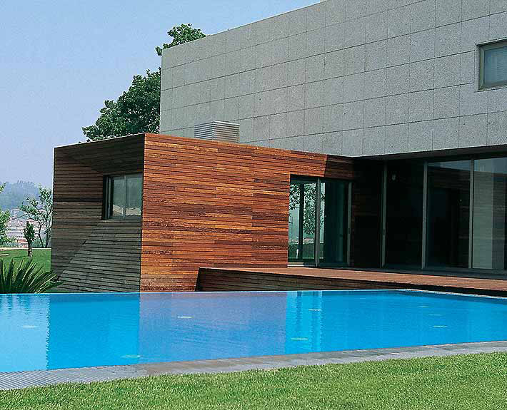 Piscina harmonia do design